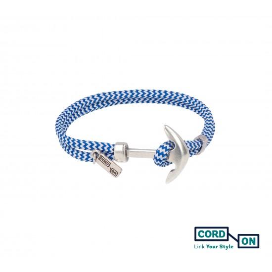 pulsera azul blanco acapulco way