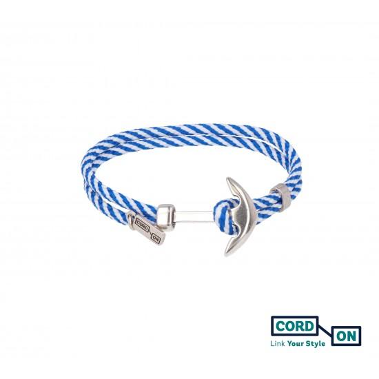 pulsera azul blanco acapulco style