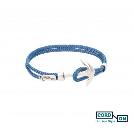 pulsera azul denim acapulco