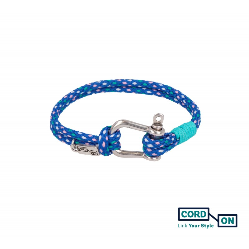 pulsera azul turquesa tulum rhomb