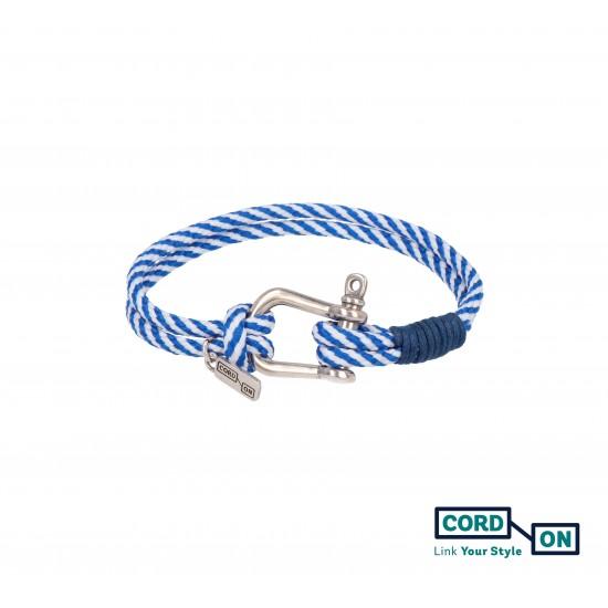 pulsera azul blanco tulum style