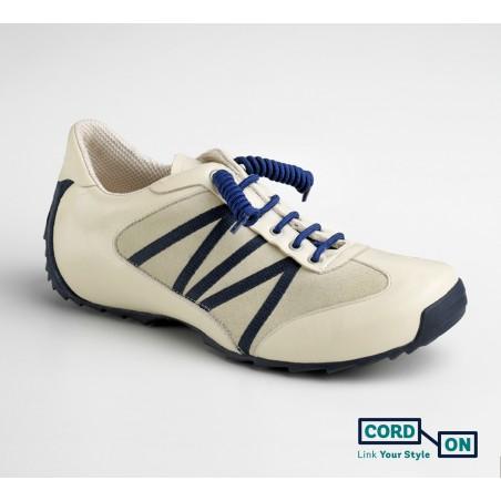 cordones elásticos calzado niño azul eléctrico