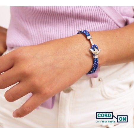 pulsera azul turquesa acapulco rhomb
