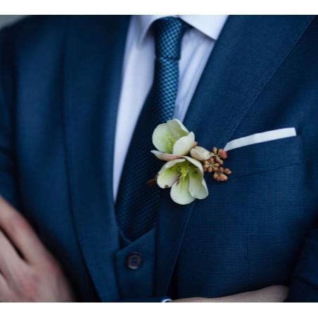 corbata hombre azul manhattan