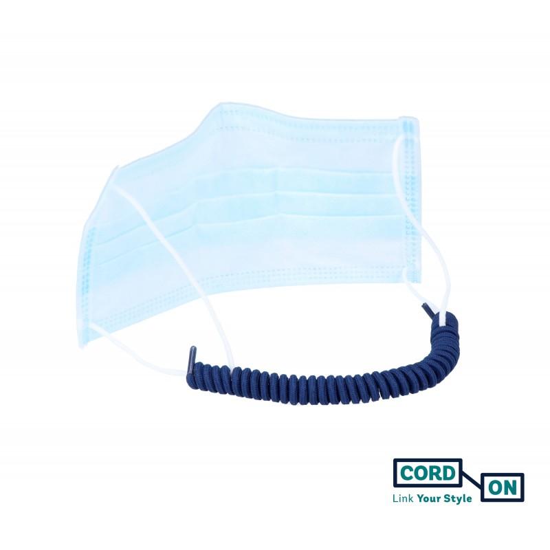 Salvaorejas elástico azul Marino