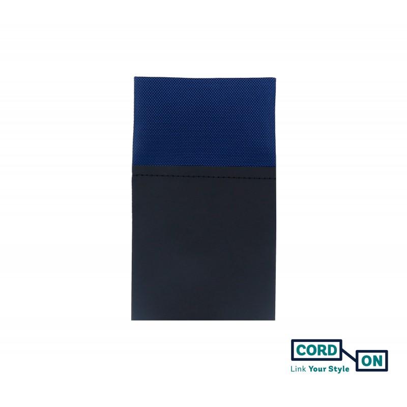 Pañuelo de bolsillo recto hombre azul marino Oxford