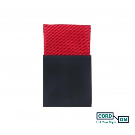 Pañuelo de bolsillo recto hombre rojo Manhattan