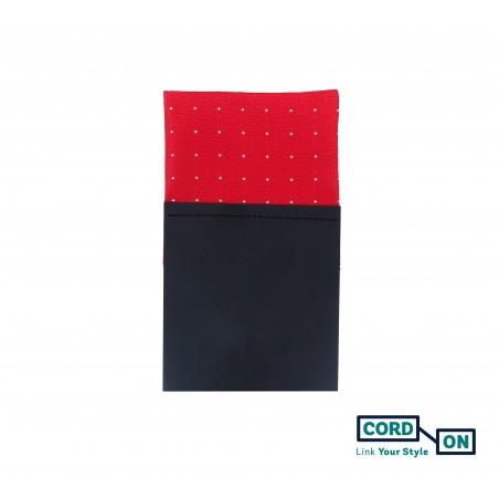 Pañuelo de bolsillo recto hombre rojo Cambridge