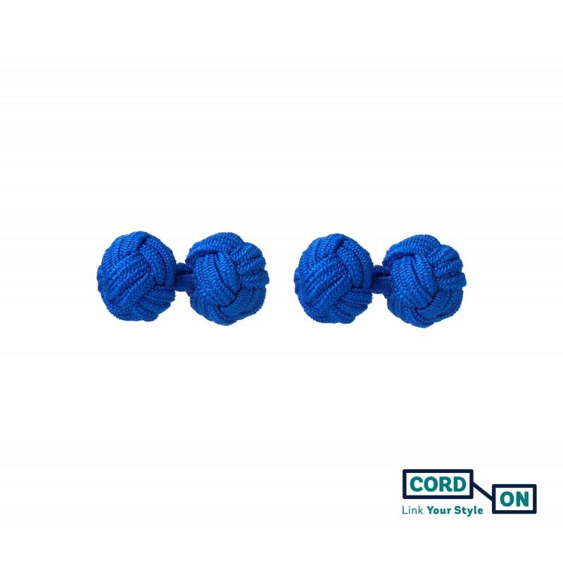 Gemelos bola nudo azul azulón Skyfall