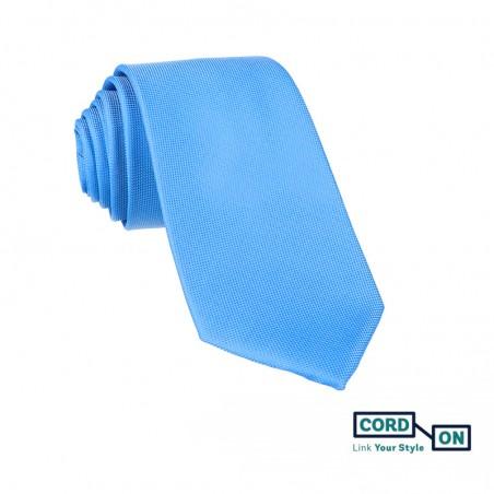 Corbata hombre azul celeste Oxford