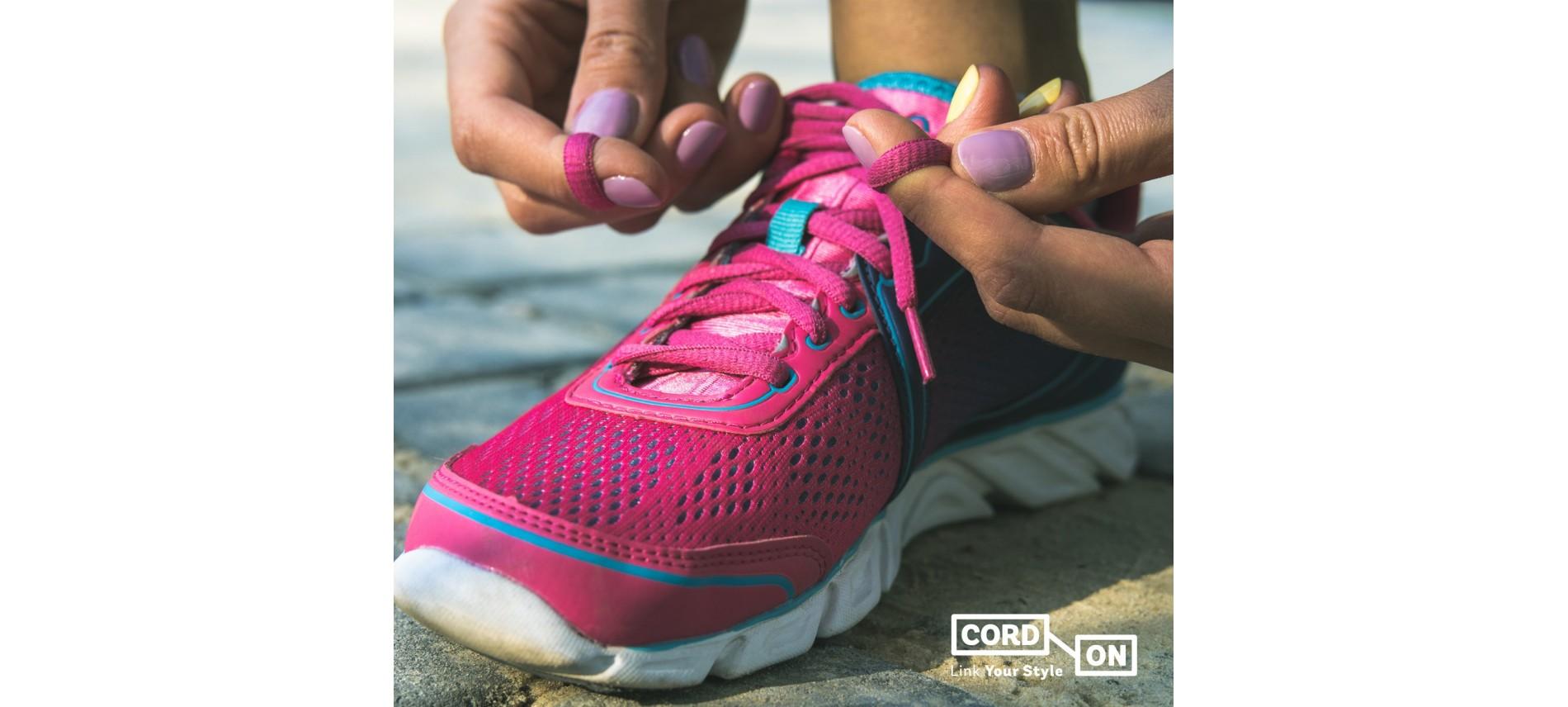 Lacets pour chaussures de sport