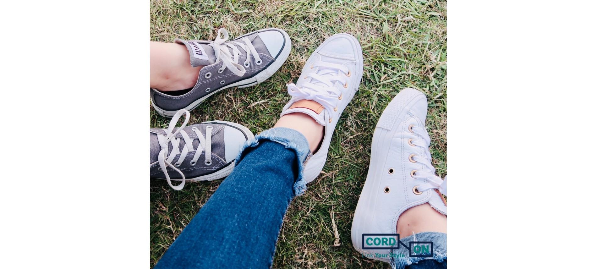 Cordones urbanos para zapatillas