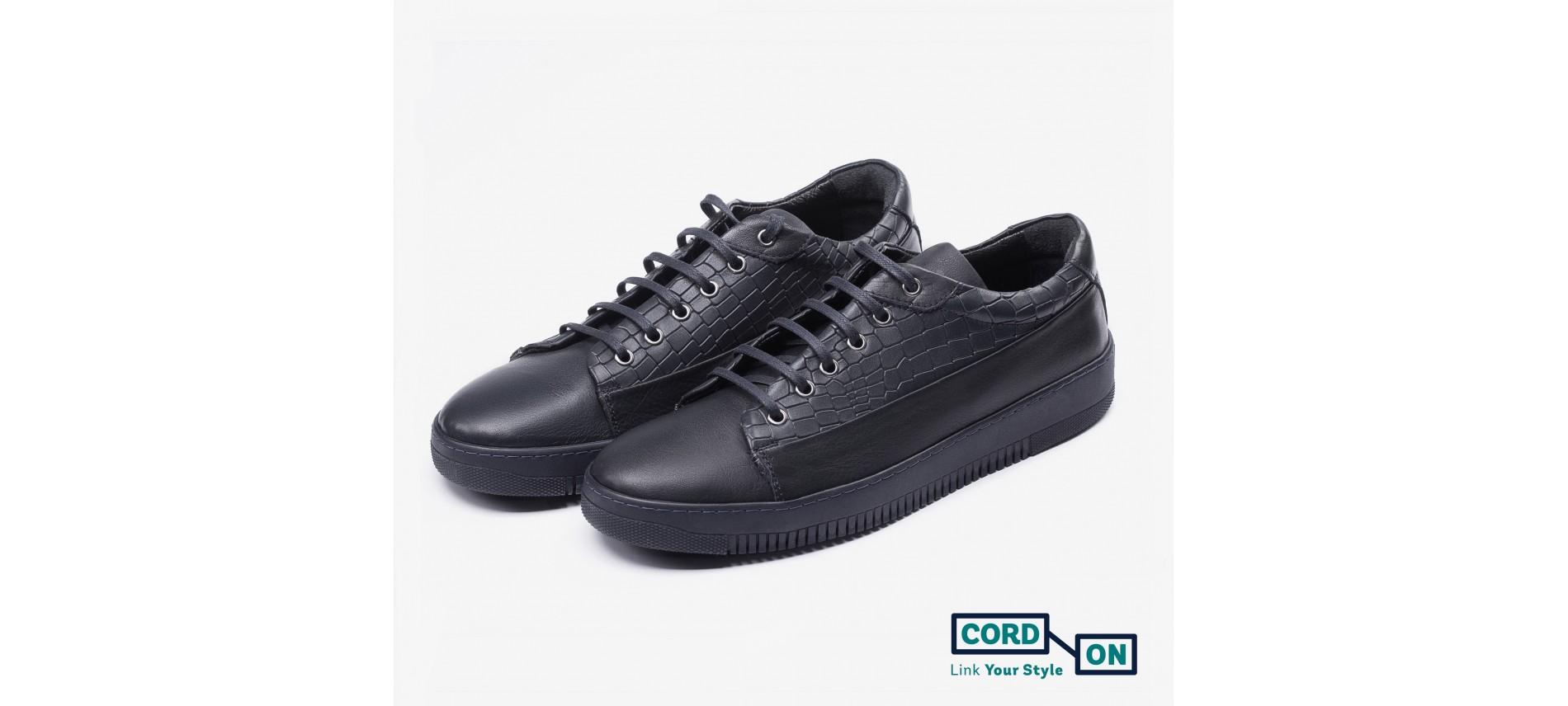 Cordones lustrados planos para calzado